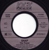 "Snap! - The Power (1990, Logic Records) Disc vinil single 7"""