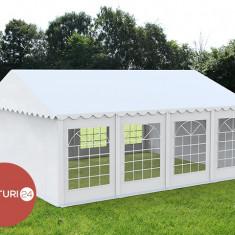 6X8 M CORT EVENIMENTE PROFESIONAL ECONOMY, PVC 500 g/m² alb