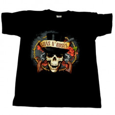 Tricou Guns N Roses - moartea cu joben, L