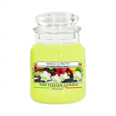 Lumanare parfumata The Premium Medium Vanilla e Frutti