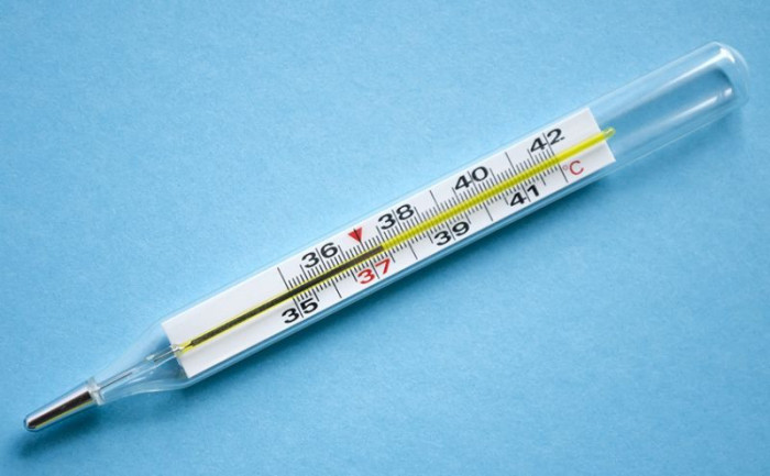 Termometru medical cu mercur
