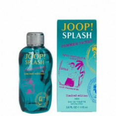 Apa de toaleta Joop! Splash Summer Ticket Limited Edition, 115 ml, pentru barbati