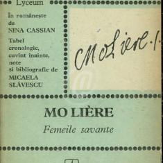 Femeile savante (Ed. Albatros)