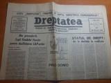 dreptatea 28 februarie 1991-articol orasul brasov