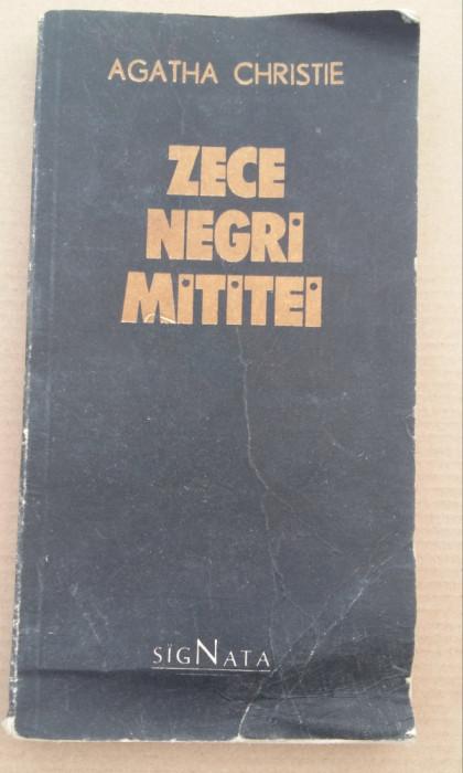 (C486) AGATHA CHRISTIE - ZECE NEGRI MITITEI