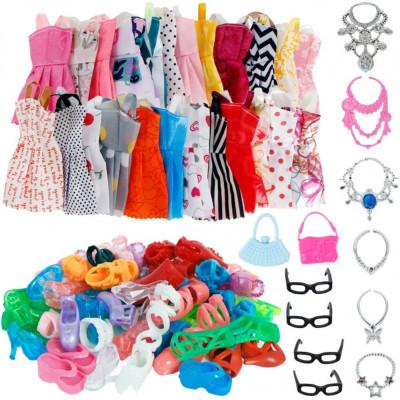 HAINE imbracaminte ROCHII rochita PANTOFI papusi ACCESORII pentru PAPUSA Barbie foto