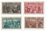 *Romania, lot 519 fiscale locale Bucuresti, Fresca Ateneului Roman. 1933, MNH, Nestampilat