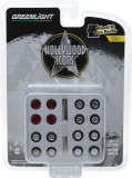 Cumpara ieftin Auto Body Shop - Wheel & Tire Packs Series 3 - Hollywood Icons Solid Pack 1:64
