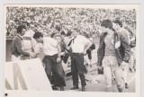 Fotbal Lucescu , Raducanu , Lacatus , Radulescu , etc format 18,5 x 13 cm