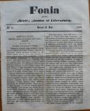 Ziarul Foaia pentru minte , inima si literatura , nr. 18 , 1862 , Samuel Klein