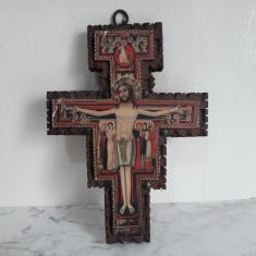 Crucifix Cruce Veche Din Lemn