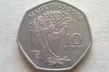 MONEDA 10 RUPEES 2000-MAURITIUS