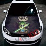 """Sticker Imprimat Color pentru Capota """"Hood Art"""" cod: KM-HOOD-104"""