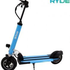 Trotineta electrica pliabila RYDE 400, Viteza maxima 35 Km/h, Autonomie 20 - 25 Km/h, Motor 400 W (Albastru)