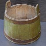 GALEATA / CIUTURA / BANITA  MOCANEASCA DIN LEMN - ANII 1900 - STARE FOARTE BUNA