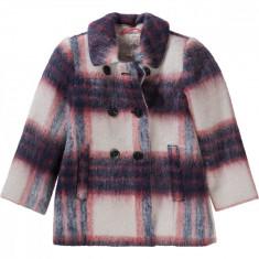 Palton amestec lana Esprit fete, multicolor, marimea 104-110 cm, 4-5 ani