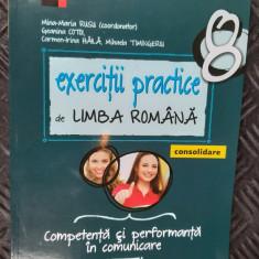 EXERCITII PRACTICE DE LIMBA ROMANA CLASA A VIII A COMPETENTA SI PERFORMANTA