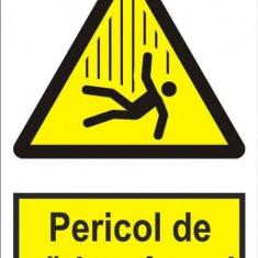 Indicator Pericol de cadere in gol - Semn Protectia Muncii