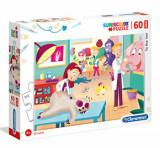 Cumpara ieftin Puzzle Maxi Super Color La Veterinar, 60 piese, Clementoni