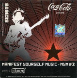 CD Manifest Yourself Music - MYM #3, original, la plic