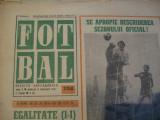 Revista Fotbal nr.194/11 februarie 1970-Peru-Romania 1-1