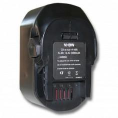 Acumulator pentru aeg wie b1420, b1420r u.a. 14.4v, ni-mh, 3000mah, 4935416790, B1414G