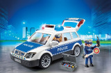 Masina De Politie Cu Lumina Si Sunete