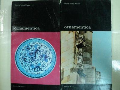 ORNAMENTICA- FRANZ SALES MEYER-BUC. 1988 -VOL. I-II foto