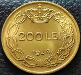 Moneda istorica 200 LEI - ROMANIA REGAT, anul 1945   *cod 5332 = UNC