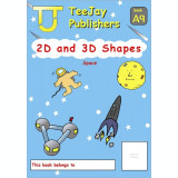 TeeJay Mathematics CfE Early Level 2D and 3D Shapes: Space (Book A9)