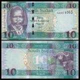 Sudan Sud 2016 - 10 pounds UNC