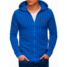 Hanorac barbati B1038 - albastru