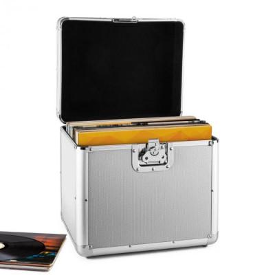 Resident DJ Timp Resident DJ placă de aluminiu capsulă valiză vinil LP dosarului 70 buc argintiu foto