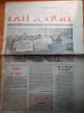 """Ziarul baricada 13 martie 1990-art. despre regele mihai- """"coroana contra secera"""""""