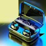 Cumpara ieftin Casti fara fir, smart digital display, TWS 5.1 stereo, in-ear waterproof, 9D...