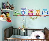 Sticker Owls
