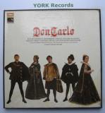VERDI - Don Carlos  ( vinil )