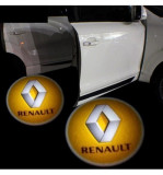 Cumpara ieftin Emblema Logo LED Portiera dedicata Marca Auto RENAULT