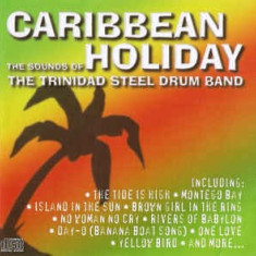CD The Trinidad Steel Drum Band ‎– Caribbean Holiday, original