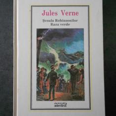 JULES VERNE - SCOALA ROBINSONILOR. RAZA VERDE (Adevarul, nr. 6)