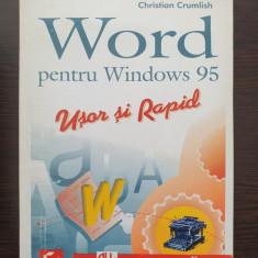 WORD PENTRU WINDOWS 95 - Christian Crumlish