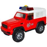 Jeep frictiune pompieri, cu lumina si sunet