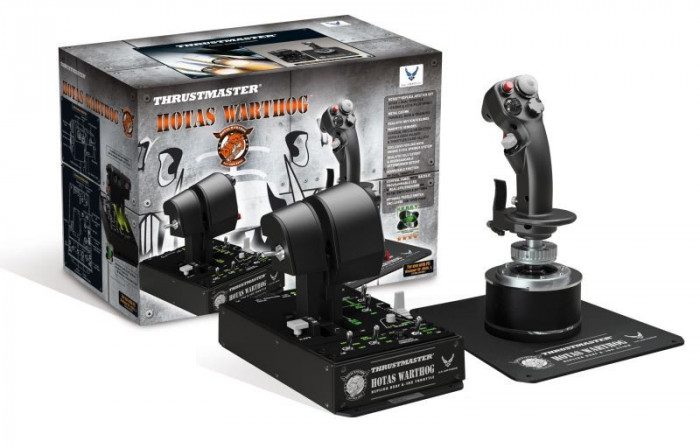 Thrustmaster Hotas Warthog Joystick and Gas Throttle for PC