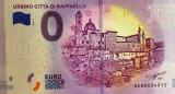 !!!  0 EURO SOUVENIR -  ITALIA  , URBINO  - 2018.1 - UNC