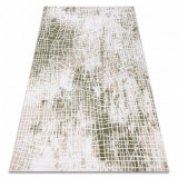 Covor acril USKUP 9483 fildeş / verde, 100x200 cm