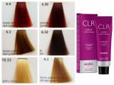 Set 12 vopsele de par profesionale CLR cu amoniac 100 ml - nr. 1