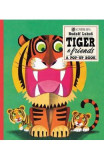 Tiger And Friends: A Pop-Up Book - Rudolf Lukes
