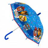 Umbrela pentru copii, model paw patrol, albastru, 60 cm