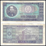 România - 100 lei (una sută lei) - 1966 (B0010) - starea care se vede