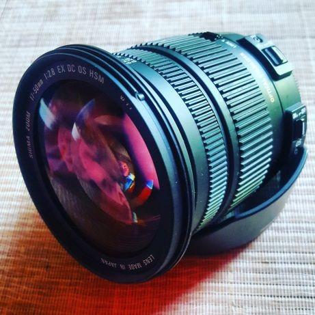Sigma 17-50mm Obiectiv Foto DSLR F2.8 EX HSM OS Montura Nikon DX